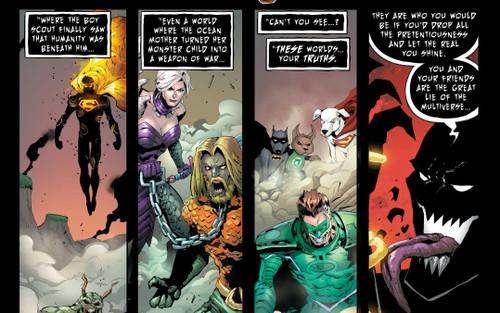 Trong 'DARK NIGHTS: DEATH METAL', DC giới thiệu các Vũ trụ Cười của Batman Who Laughs