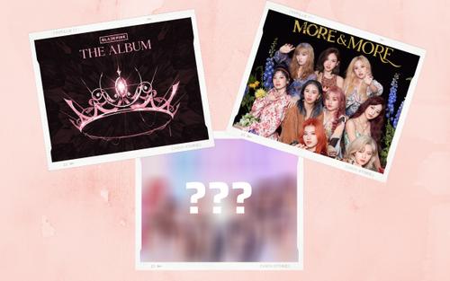 10 nhóm nữ K-Pop có album bán chạy nhất tuần đầu: BLACKPINK hạng 1, TWICE xếp sau đàn em