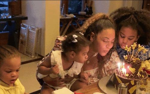 Beyoncé thu hút người hâm mộ với hình ảnh sinh nhật lần thứ 38 bên gia đình nhỏ