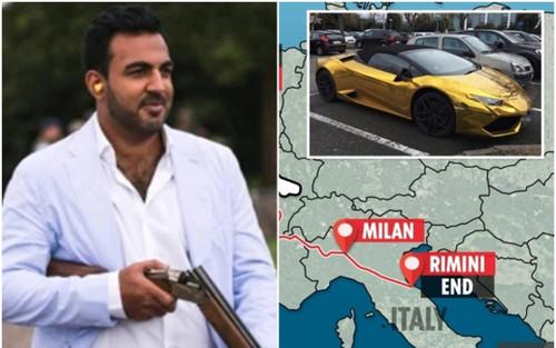 Triệu phú lái siêu xe vượt hơn 1,5 ngàn km để truy đuổi, đe dọa bạn gái