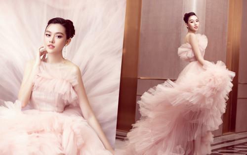 Á hậu Tường San xuất hiện sau đám cưới với hình ảnh 'công chúa ngọt ngào' đốn tim fan