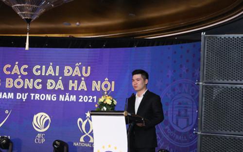 Con trai bầu Hiển có 'đánh bóng' được hình ảnh của Hà Nội FC?