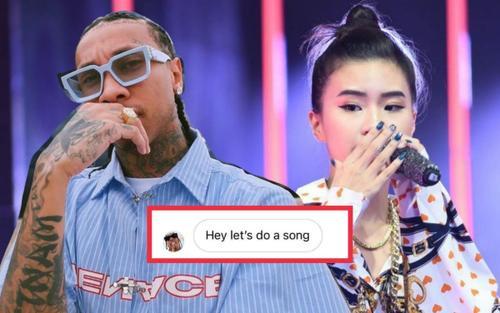 'Hai phút hơn' gây bão toàn cầu, Pháo được đích thân rapper nổi tiếng Tyga nhắn tin ngỏ lời hợp tác