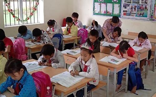 132 trường học ở Lai Châu cho học sinh nghỉ học do rét đậm, rét hại