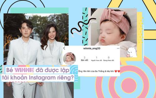 Ông Cao Thắng - Đông Nhi lập Instagram cho con gái cưng Yên Nhi: Ảnh mới của bé Winnie cưng hết nấc!