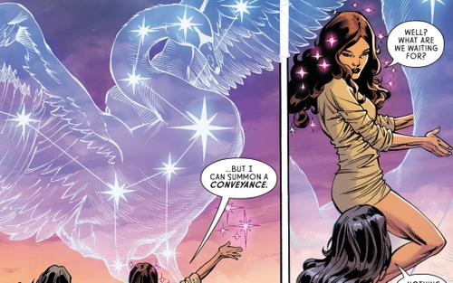 Wonder Woman: Nữ thần Aphrodite, 1 cô chị gái thân thiện
