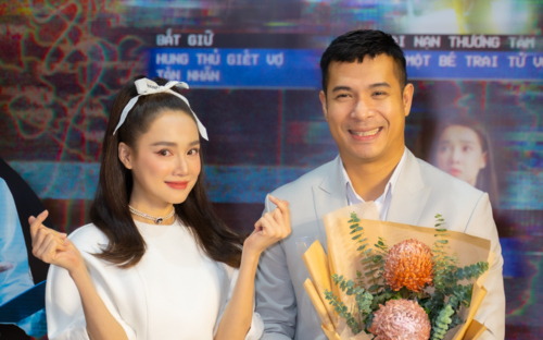 Họp báo 'Song Song': Nhã Phương 'tình bể tình' bên Trương Thế Vinh, Trường Giang có ghen?