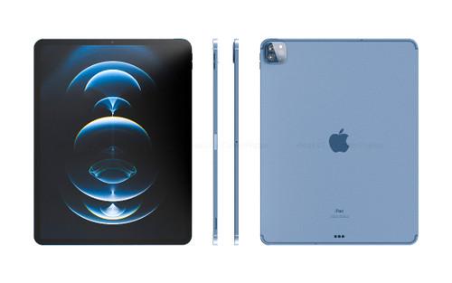 iPad Pro 2021 lộ diện với viền siêu mỏng, sang chảnh bất ngờ cùng màu sắc mới