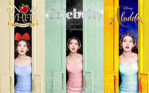 Chỉ với một tấm poster, fan trổ tài 'hóa phép' IU thành 7749 công chúa Disney đẹp 'hớp hồn'
