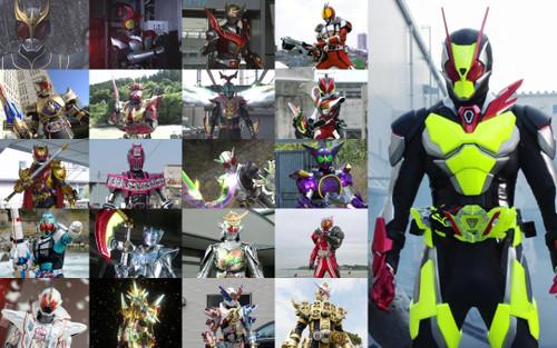 Nếu những Kamen Rider trở thành nhân vật Disney thì sẽ như thế nào?