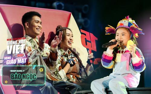 Bảo Ngọc: 'Idol ăn dặm' siêu đa tài chọn về đội BigDaddy - Emily khiến Team MimiMama tiếc hùi hụi