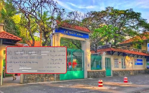 Nhiều phụ huynh học sinh lớp 12 bức xúc vì khoản thu 'về đích' 1,7 triệu đồng của trường THPT Lê Quý Đôn