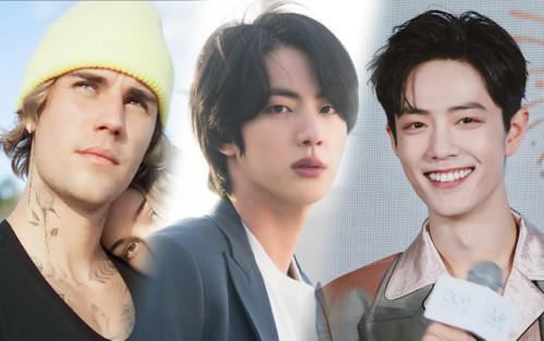 50 bài hát hot thế giới đầu năm 2021: Jin (BTS) 'hạ gục' Tiêu Chiến - Justin Bieber