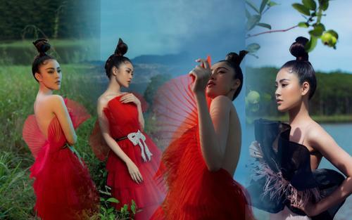 Người mẫu dầm mình trong nước lạnh giữa trời 8 độ để hóa thiên trong bộ ảnh thời trang của Lí Qúi Khánh