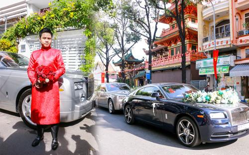 Cận cảnh dàn xe trăm tỷ xuất hiện trong đám cưới Phan Thành - Primmy Trương