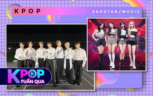Kpop tuần qua: BlackPink 'phá đảo' show Mỹ, loạt sân khấu của BTS 'bốc hơi', AKMU gia hạn hợp đồng với YG