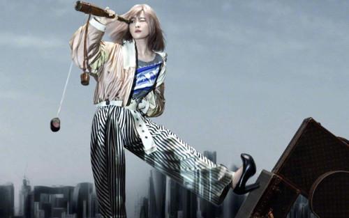 Lưu Diệc Phi lột xác hoàn toàn với visual như nữ idol Kpop trên bìa tạp chí