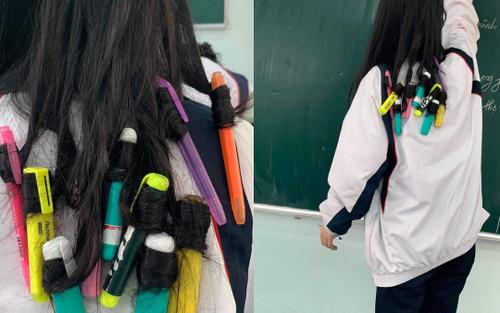 Muốn làm tóc dịp Tết nhưng không có tiền, nữ sinh nảy ra ý tưởng 'bá đạo' khiến dân mạng gật gù ngợi khen