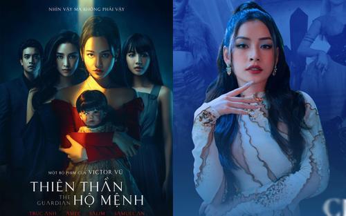 'Thiên thần hộ mệnh' tung poster chính thức: Chi Pu quan trọng cỡ nào mà mãi chưa lộ diện?