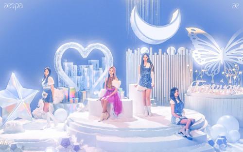 aespa tung teaser mới cùng trang phục sến súa, nhiều người thắc mắc rốt cuộc ai mới là center?