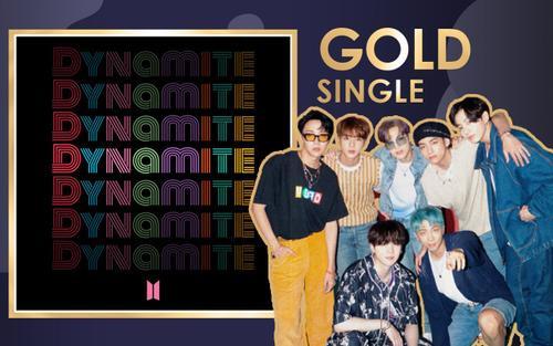 'Dynamite' đạt chứng nhận Gold tại Anh, BTS lại bỏ túi thêm kỉ lục 'vô tiền khoáng hậu'