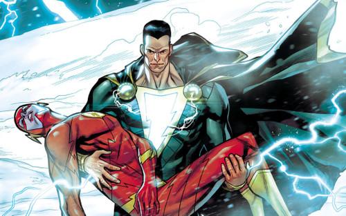 Phản diện đình đám số 1 vũ trụ DC - Black Adam đổi tên thành SHAZADAM?