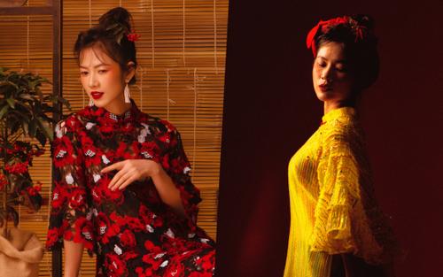 Oanh Kiều biến hóa phong cách trong bộ ảnh Tết, chia sẻ về vai diễn trong 'Trạng Tí'