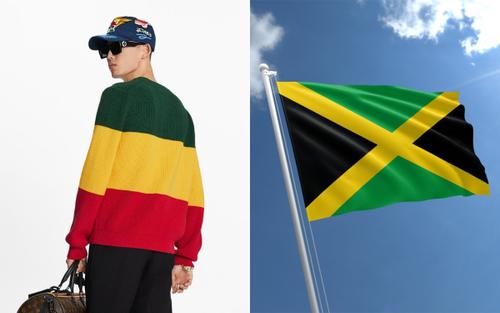 Louis Vuitton bị chỉ trích bán áo tôn vinh Jamaica nhưng lại dùng sai màu quốc kỳ