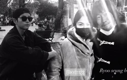 Song Joong Ki man mác buồn, Song Hye Kyo e ấp bên bạn trai cũ của Gong Hyo Jin!