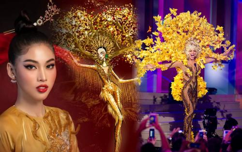 Trang phục dân tộc của Ngọc Thảo ở Miss Grand International bị nghi đạo nhái nước ngoài
