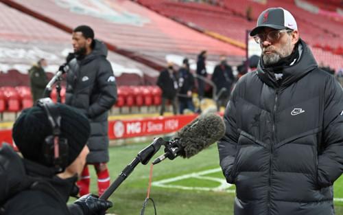 Liverpool thua trận thứ 4 liên tiếp ở Ngoại hạng Anh, HLV Klopp chê cả công lẫn thủ