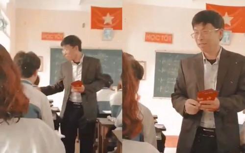 Tâm lý như giáo viên 'trường người ta': Tự tay chuẩn bị bao lì xì rồi phát cho cả lớp ngày đi học đầu năm