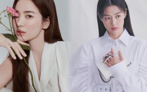Thần thái 'chị đại' Song Hye Kyo & 'mợ chảnh' trong các bộ ảnh thời trang khiến đàn em dè chừng