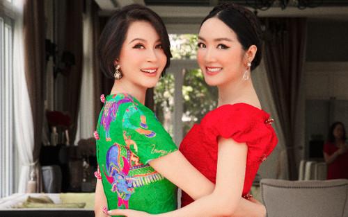 MC Thanh Mai, Giáng My đọ sắc cùng nhau, hai 'mỹ nhân không tuổi' làm sáng bừng khung hình