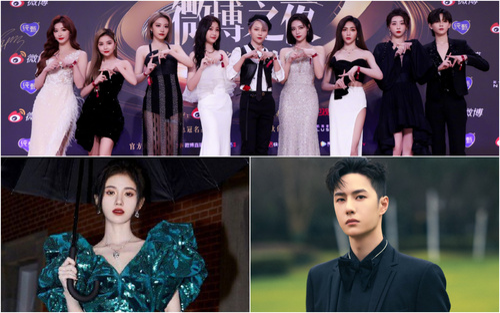 Vương Nhất Bác, Đường Yên, The9 và các KOL xứ Trung bị soi chiều cao trong 'Đêm hội Weibo 2020'