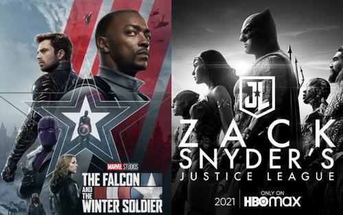 Marvel và DC đại chiến màn ảnh nhỏ trong cuộc đua streaming tháng 3