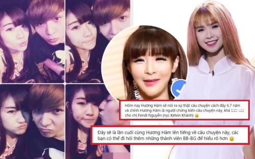 Hàm Hương tung bằng chứng tố Khởi My là 'trà xanh' trong chuyện tình Kelvin Khánh và người yêu cũ?