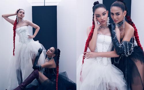 Võ Hoàng Yến cùng trò cưng Alexandra Matheson nhuộm tóc đỏ, pose dáng cực thần thái trong bộ ảnh mới