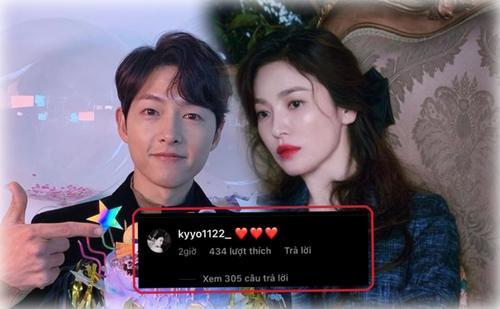 Song Hye Kyo bất ngờ bình luận ảnh của Song Joong Ki: Nối lại tình xưa?