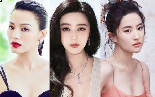 5 mỹ nhân quyến rũ nhất showbiz Hoa ngữ