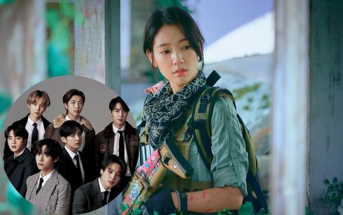 Park Shin Hye đích thị là fan cứng của BTS trong 'Sisyphus: The Myth'