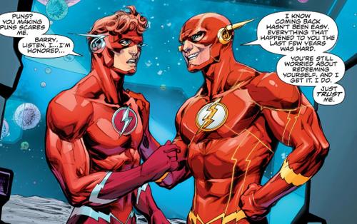 Flash Wally West trở lại làm Flash chính thức của vũ trụ DC