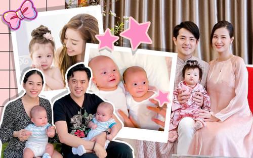 Gia đình Sao Việt: Đua nhau lập tài khoản MXH cho con - con gái Đông Nhi đang siêu hot