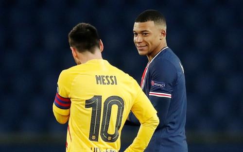 Mbappe xô đổ kỷ lục của Messi ở Champions League