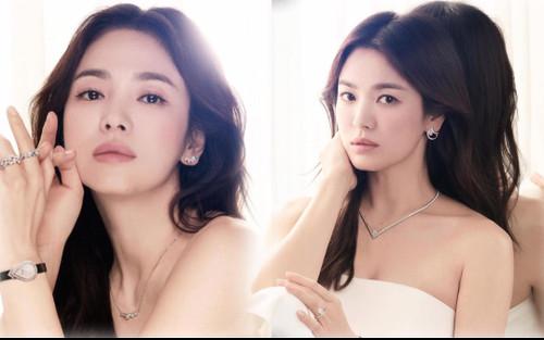 Song Hye Kyo diện váy cưới đẹp hờ hững: Hóa Vương hậu trong tích tắc!