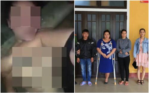 Thông tin mới vụ nhóm phụ nữ xông vào lột quần áo nạn nhân, đánh ghen kinh hoàng ở Huế