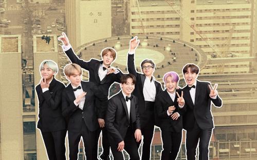 Rò rỉ hình ảnh phim trường sân khấu của BTS tại Grammy 2021: Knet vừa hào hứng vừa nơm nớp lo sợ
