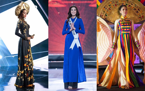 Những lần áo dài Việt Nam tung bay ở Miss Universe, Khánh Vân khiến fan kì vọng