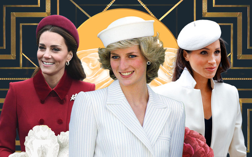 Bí ẩn tủ đồ Hoàng gia: Sợi chỉ đỏ xuyên suốt gu thời trang của Diana và hai con dâu Kate & Meghan