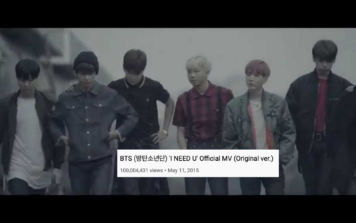 I NEED U (Original ver) trở thành MV thứ 32 của BTS đạt 100 triệu lượt xem